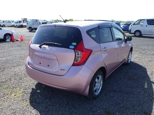 NISSAN NOTE 2014/07 159373