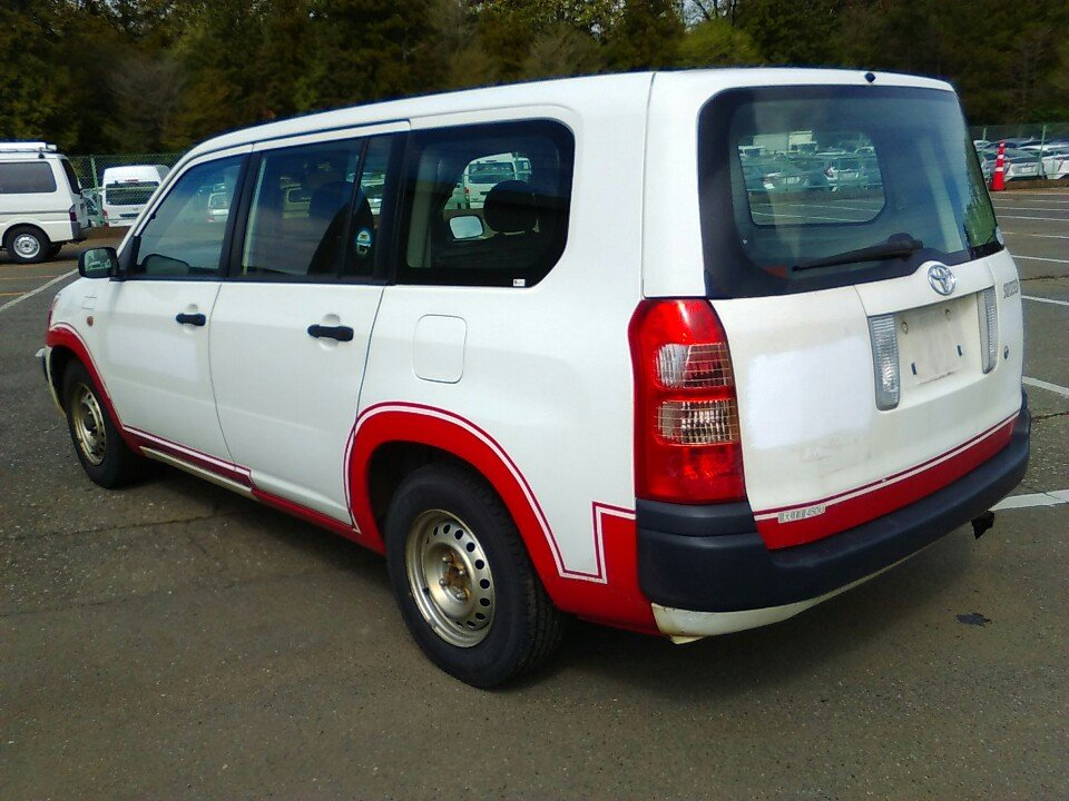 TOYOTA SUCCEED 2008/03 NCP51-0192244