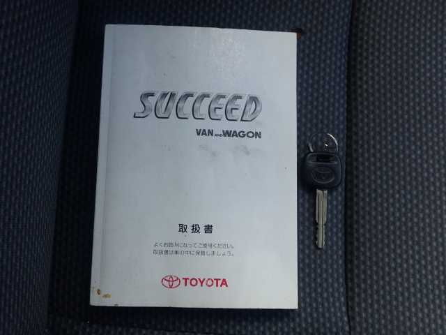 TOYOTA SUCCEED 2008/12 157691