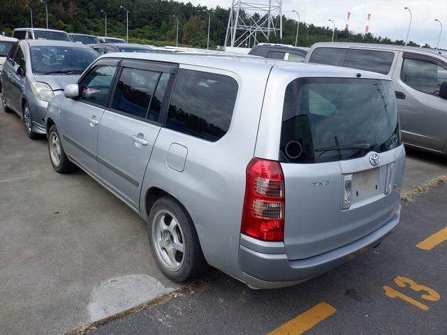 TOYOTA SUCCEED 2002/09 NCP58-0007117