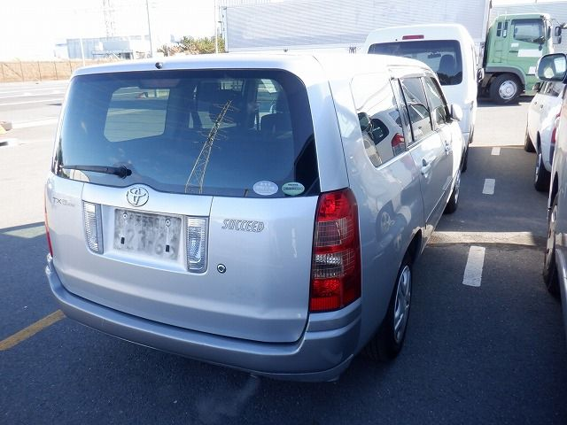 TOYOTA SUCCEED 2006/12 NCP58-0055441